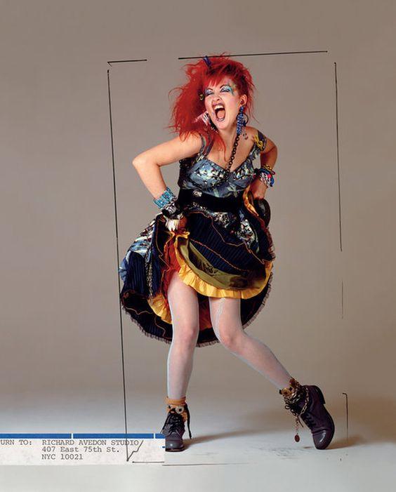 Bulle musicale Cyndi Lauper…..